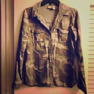 Camouflage light jacket! 🤍
